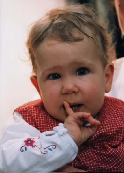 Louise Buballa(27.März 2002 - 16. Dezember 2003)